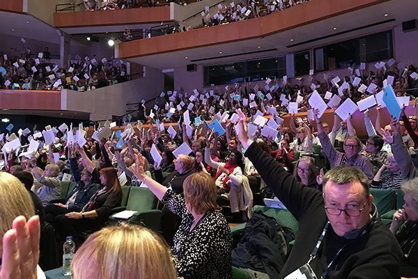 nut vote - Easter conferences: time for teaching unions to resurrect themselves?