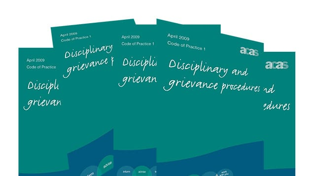 acas disciplinary code covers - Why the ACAS Code of Practice on disciplinary and grievance procedures should be changed